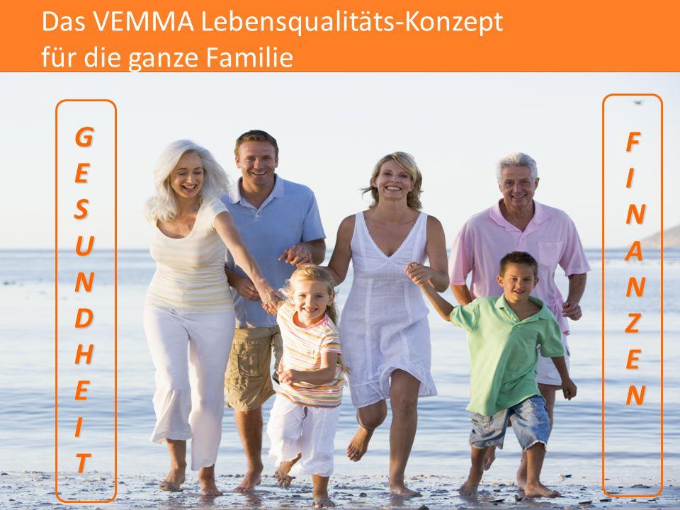 Das VEMMA Lebensqualitäts-Konzept für die ganze Familie