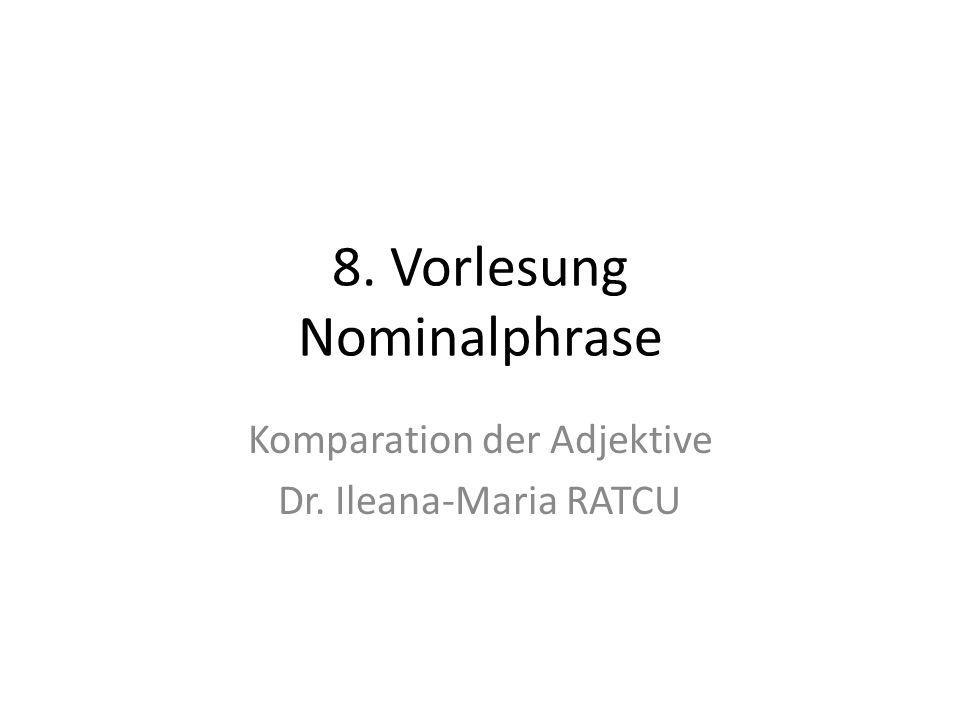 8. Vorlesung Nominalphrase