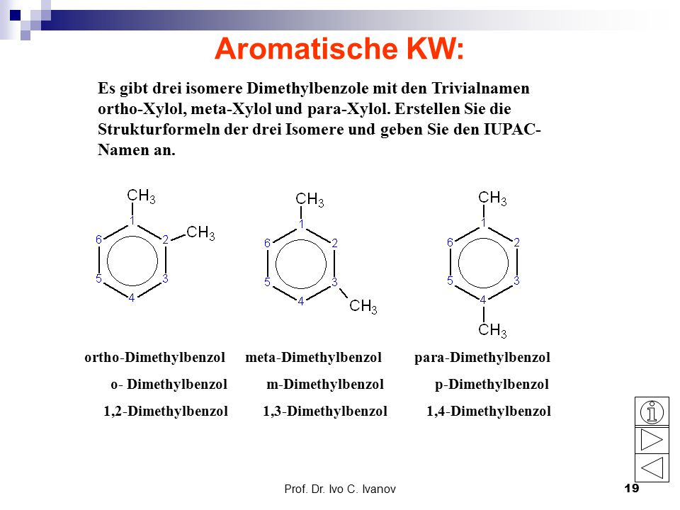 Aromatische KW: