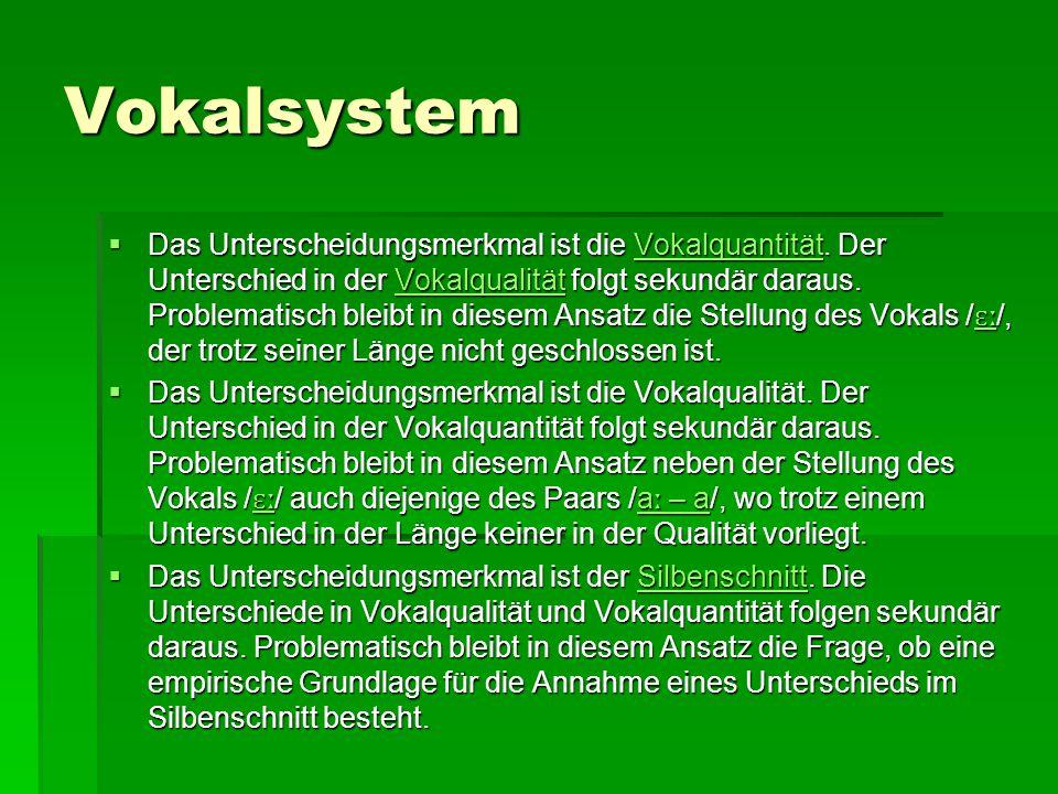Vokalsystem
