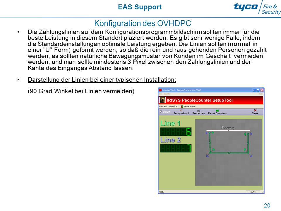 Konfiguration des OVHDPC
