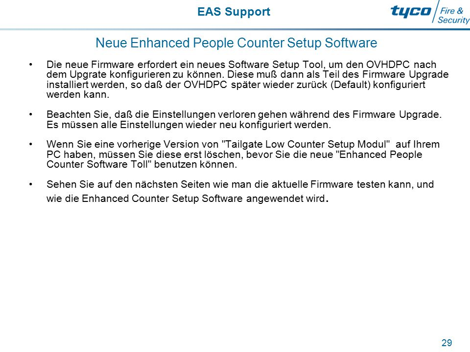 Neue Enhanced People Counter Setup Software