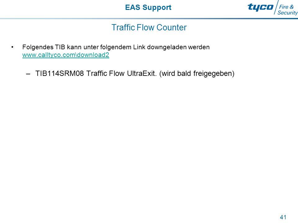 Traffic Flow Counter Folgendes TIB kann unter folgendem Link downgeladen werden www.calltyco.com\download2.