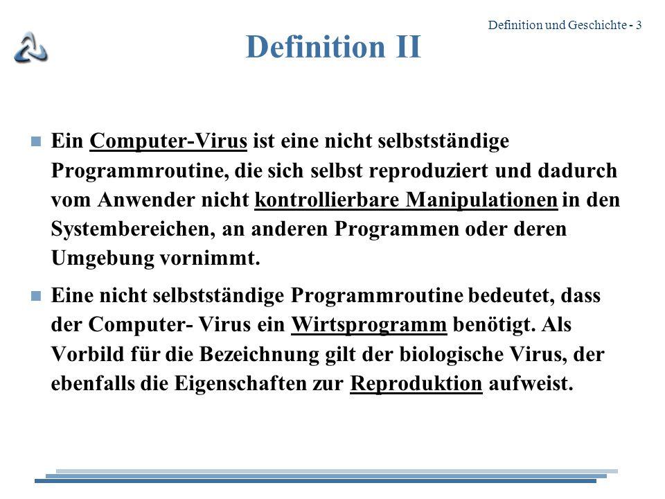 Definition II