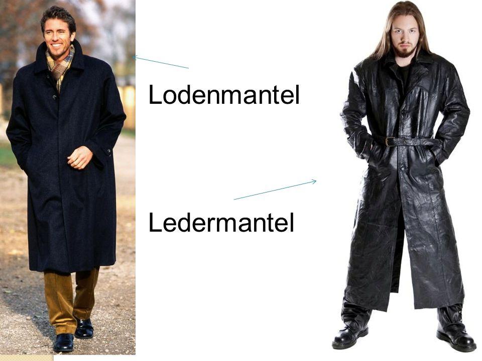 Lodenmantel Ledermantel