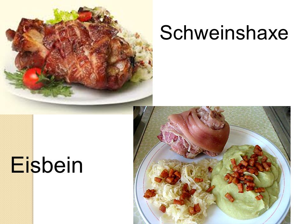 Schweinshaxe Eisbein
