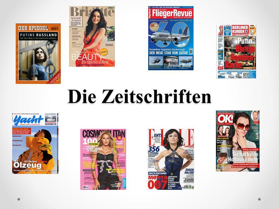 Die Zeitschriften