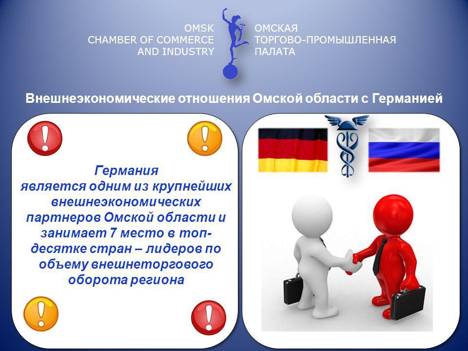 Внешнеэкономические отношения Омской области с Германией