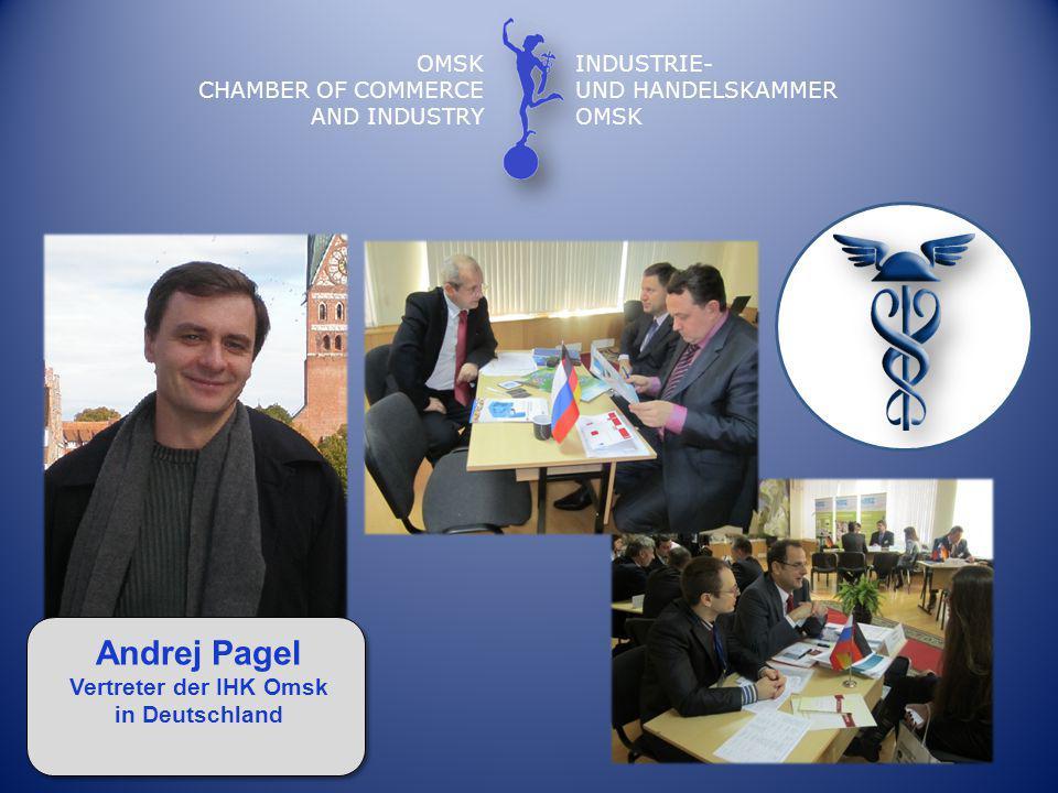 Vertreter der IHK Omsk in Deutschland