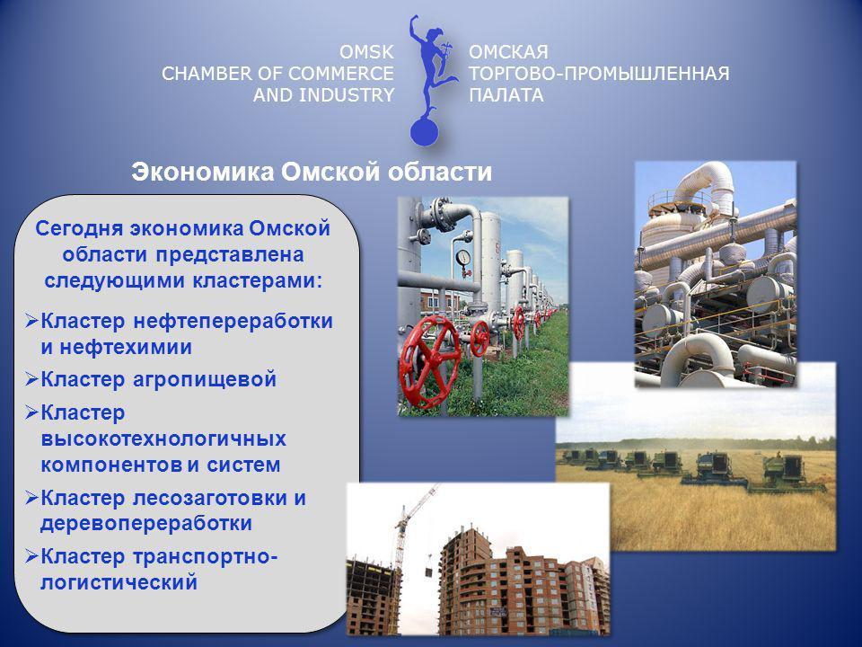 Экономика Омской области
