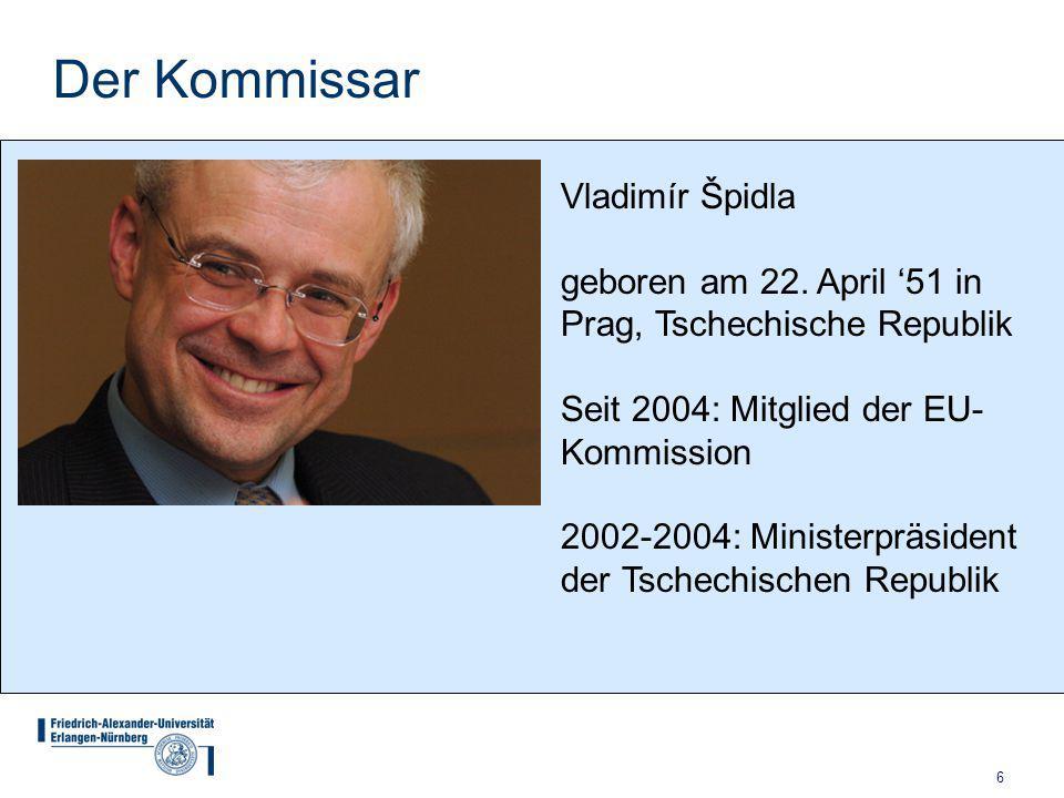 Der Kommissar Vladimír Špidla