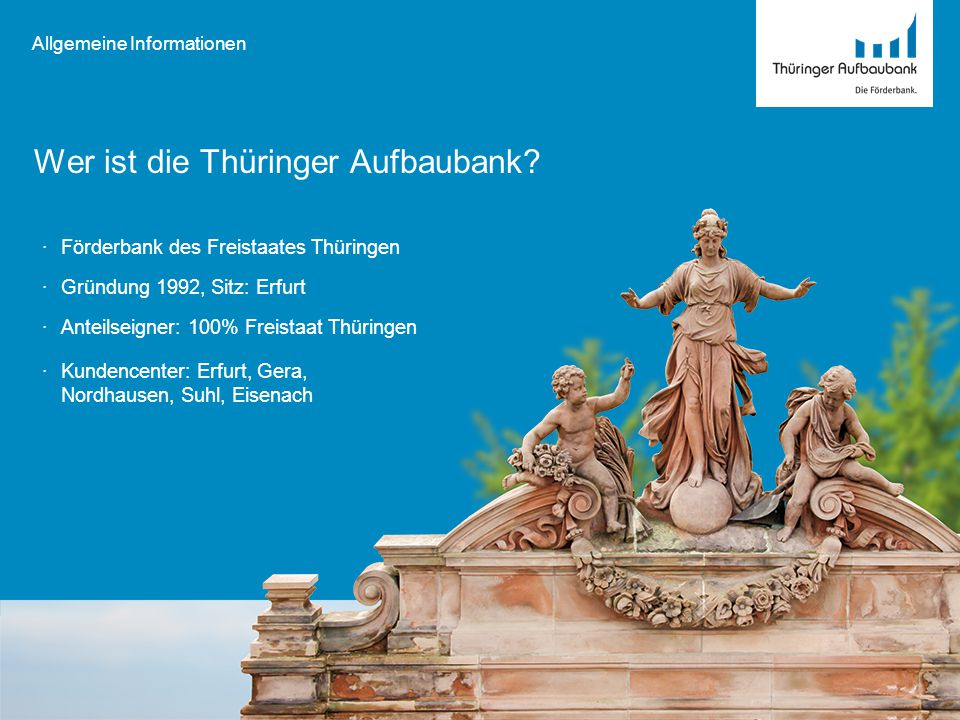 Wer ist die Thüringer Aufbaubank