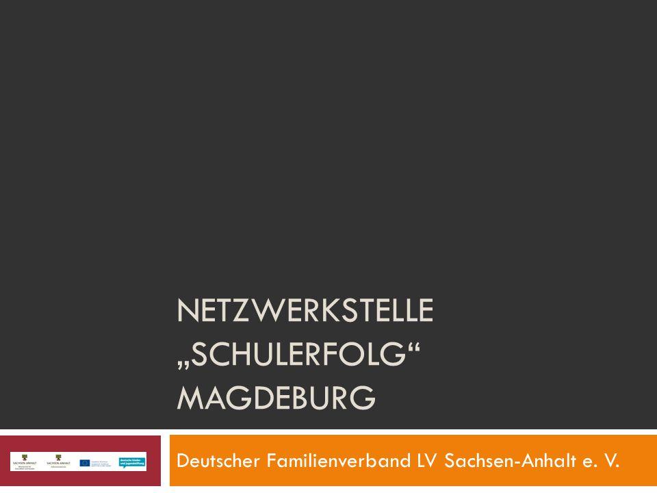 "Netzwerkstelle ""Schulerfolg Magdeburg"