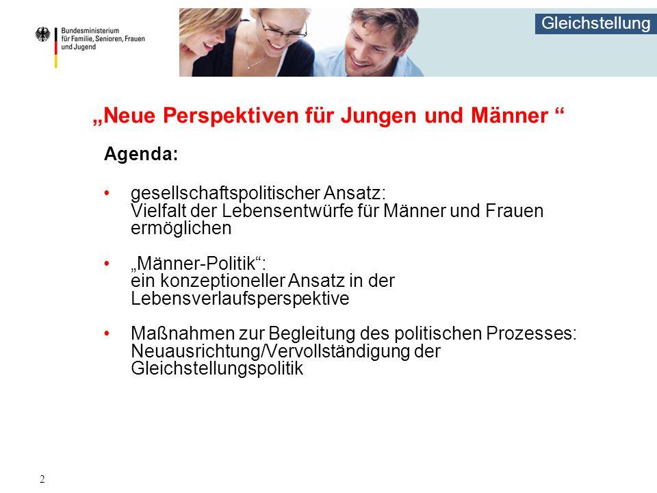 """""""Neue Perspektiven für Jungen und Männer"""