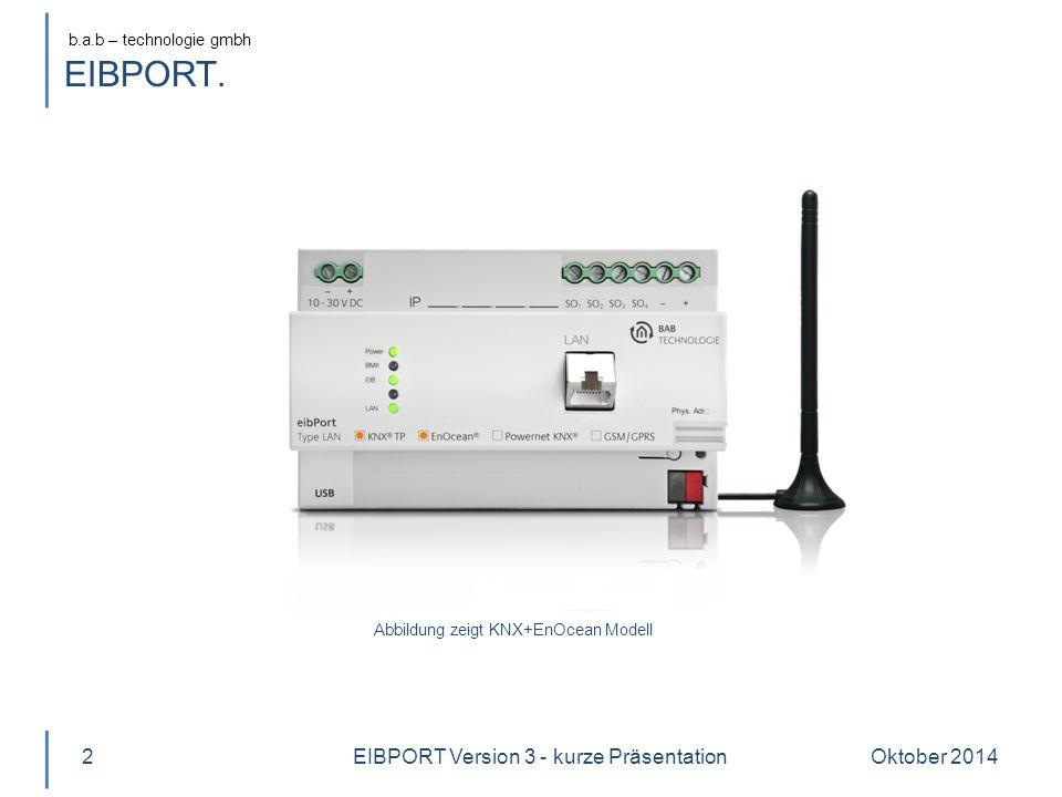 EIBPORT Version 3 - kurze Präsentation