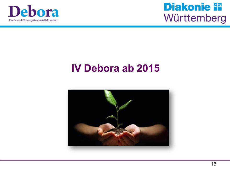 IV Debora ab 2015