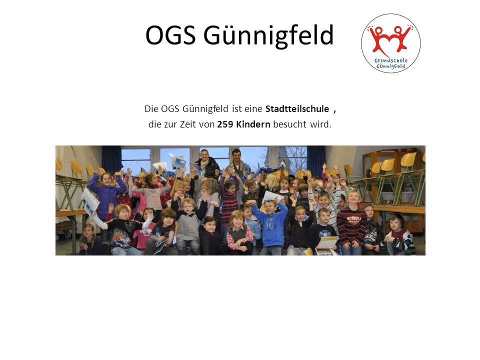 OGS Günnigfeld Die OGS Günnigfeld ist eine Stadtteilschule ,