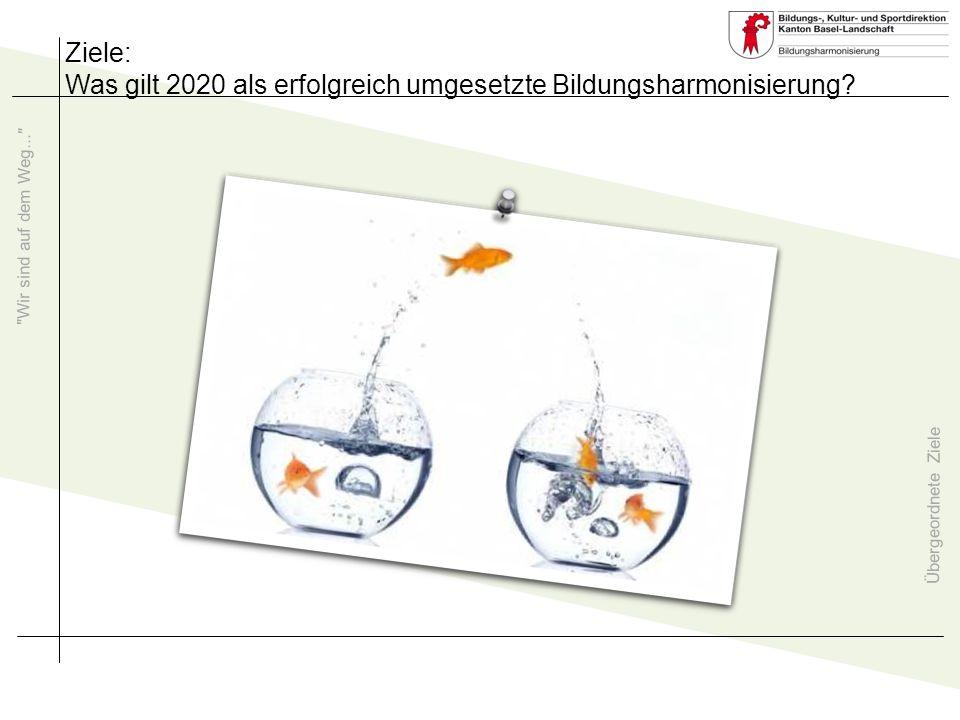 Was gilt 2020 als erfolgreich umgesetzte Bildungsharmonisierung