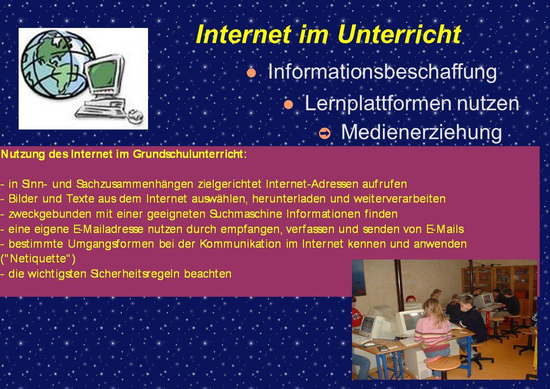 Internet im Unterricht