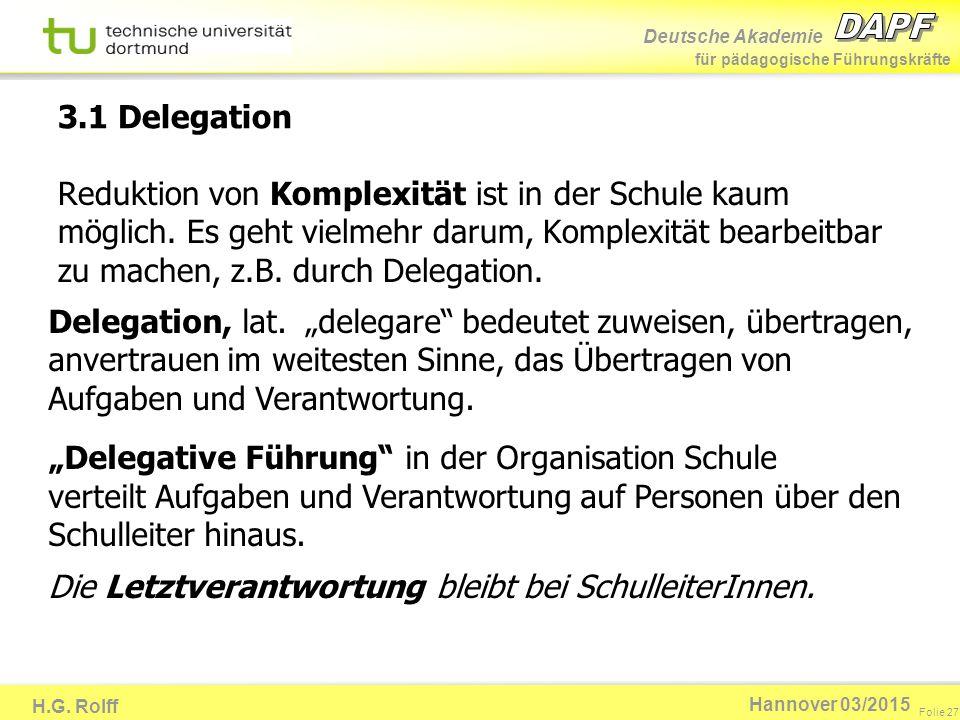 3.1 Delegation