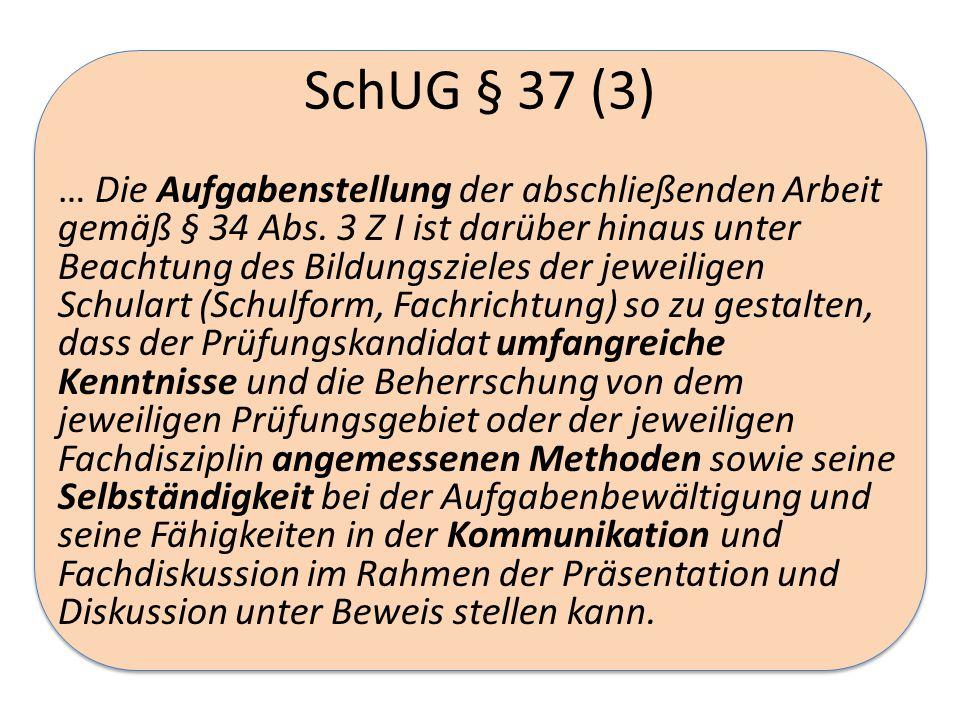 SchUG § 37 (3)