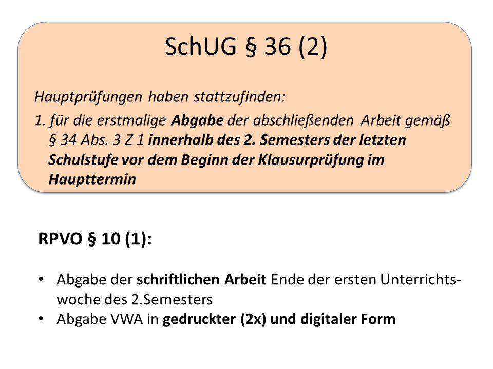 SchUG § 36 (2)