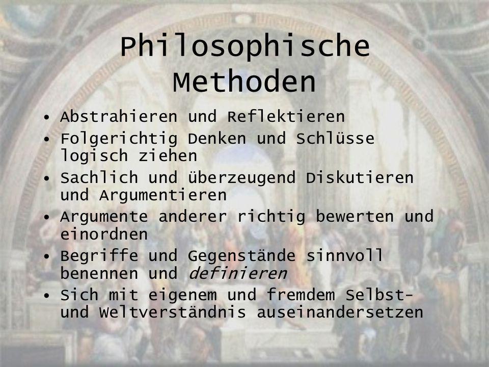 Philosophische Methoden