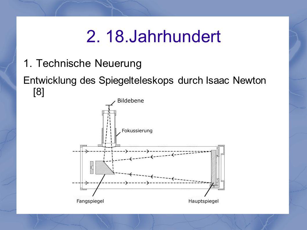 2. 18.Jahrhundert Technische Neuerung