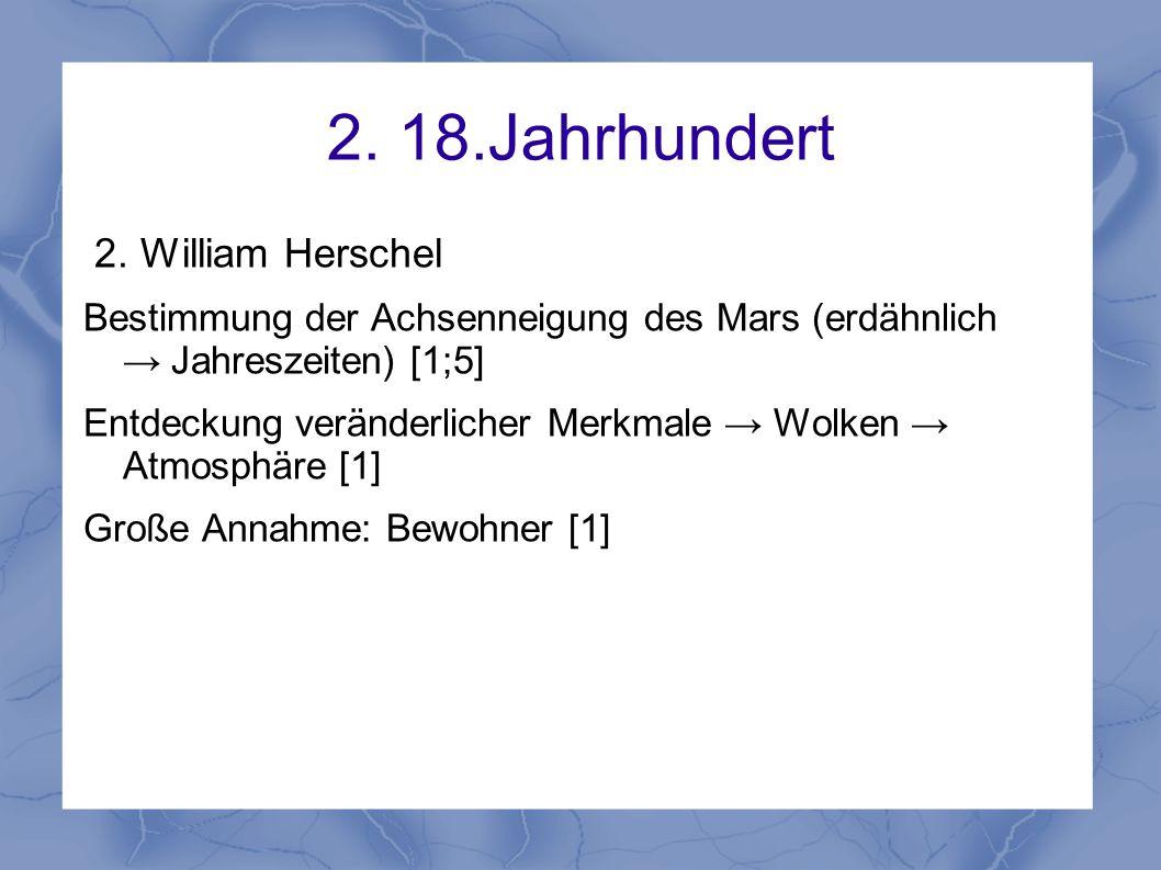 2. 18.Jahrhundert 2. William Herschel