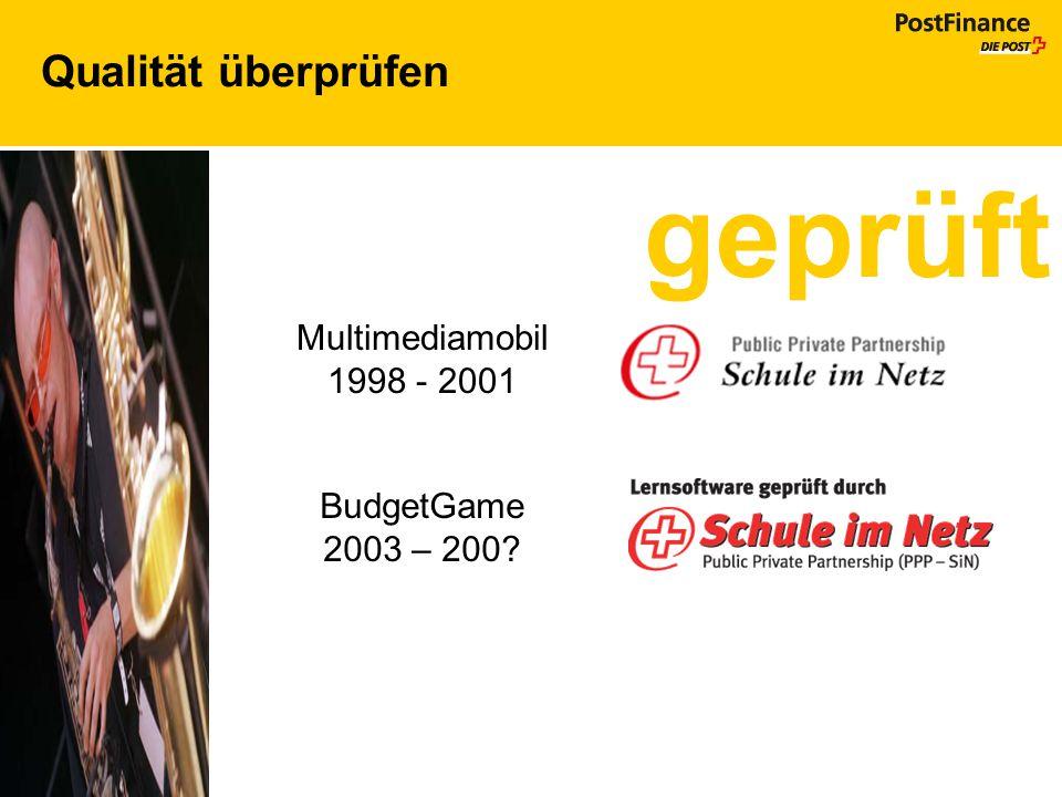 geprüft Qualität überprüfen Multimediamobil 1998 - 2001 BudgetGame