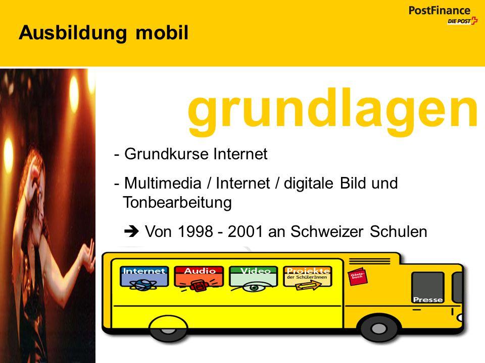  Von 1998 - 2001 an Schweizer Schulen