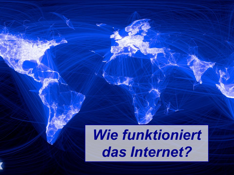 Wie funktioniert das Internet