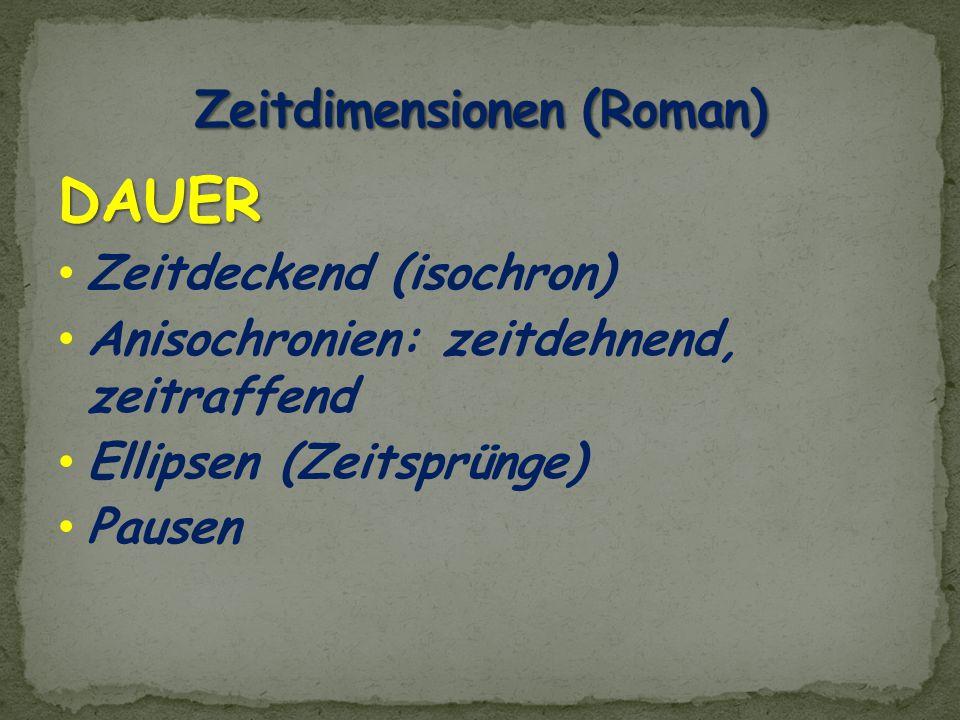 Zeitdimensionen (Roman)