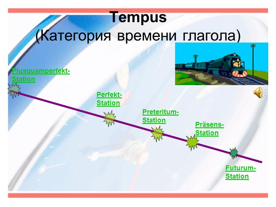 Tempus (Категория времени глагола)