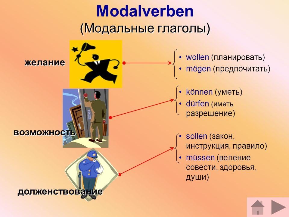 Modalverben (Модальные глаголы)