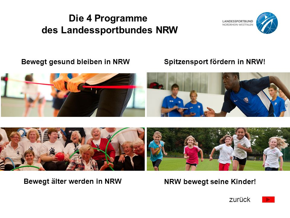 des Landessportbundes NRW