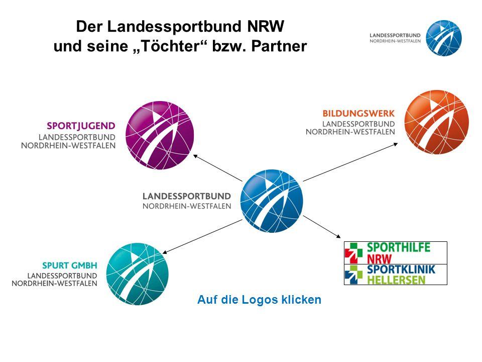 """Der Landessportbund NRW und seine """"Töchter bzw. Partner"""