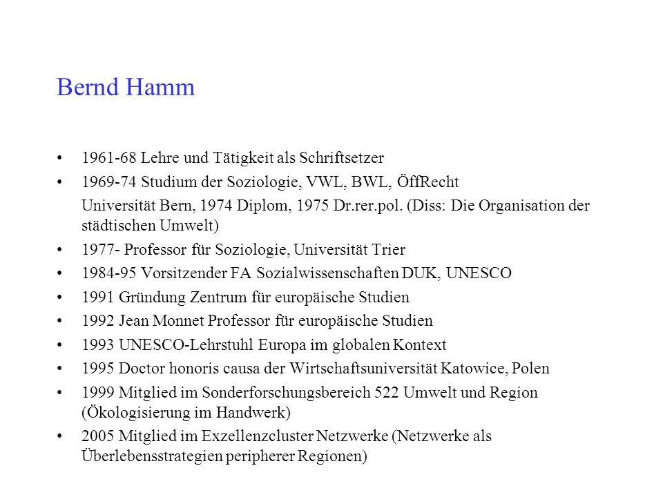 Bernd Hamm 1961-68 Lehre und Tätigkeit als Schriftsetzer