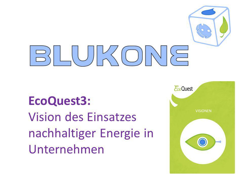 EcoQuest3: Vision des Einsatzes nachhaltiger Energie in Unternehmen