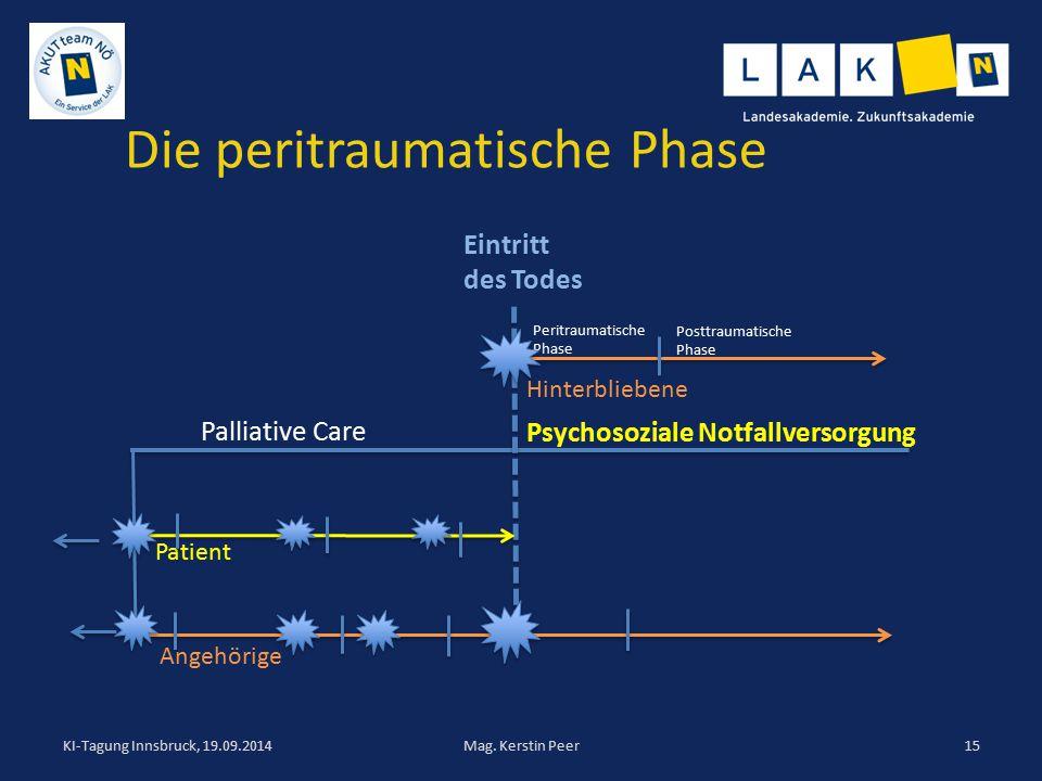 Die peritraumatische Phase