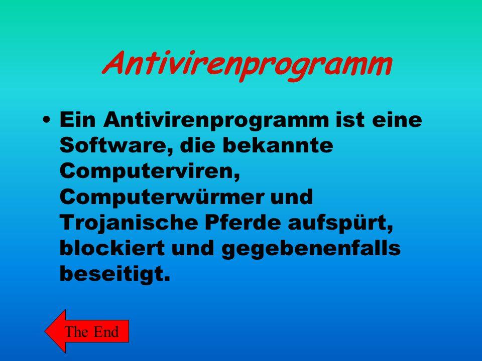 Antivirenprogramm