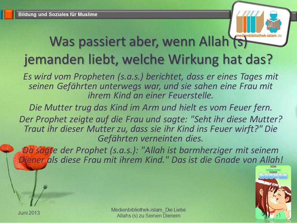 Medienbibliothek-islam_Die Liebe Allahs (s) zu Seinen Dienern