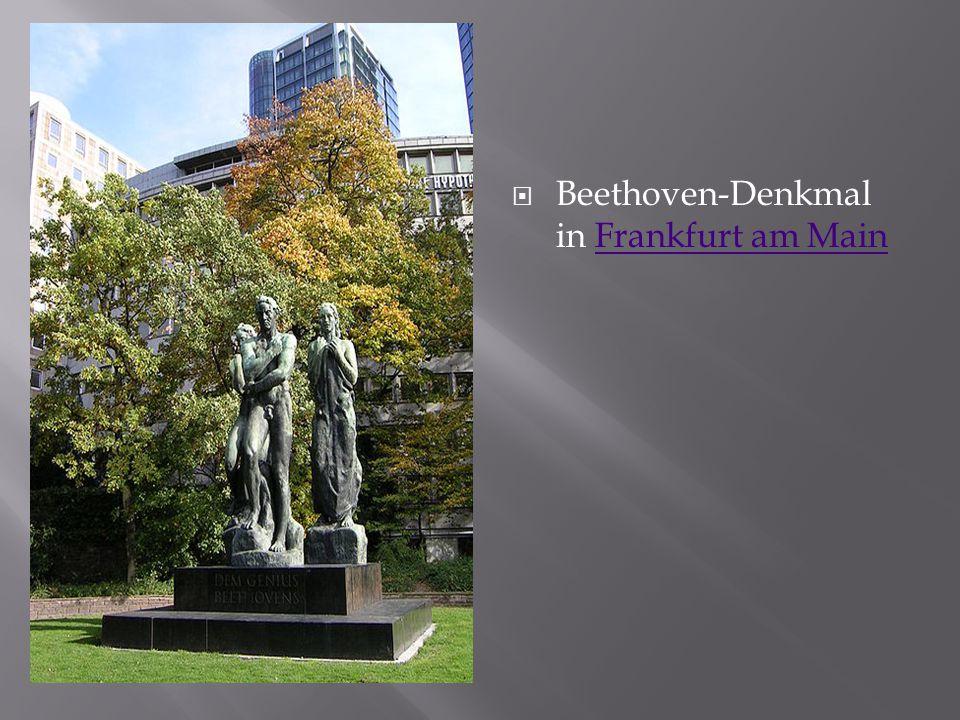 Beethoven-Denkmal in Frankfurt am Main