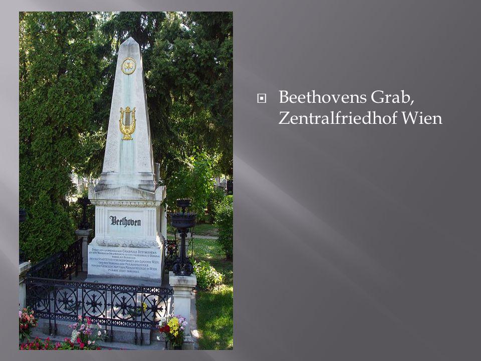 Beethovens Grab, Zentralfriedhof Wien