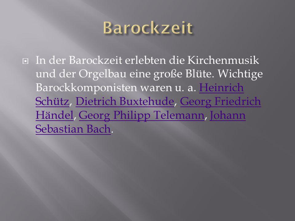 Barockzeit
