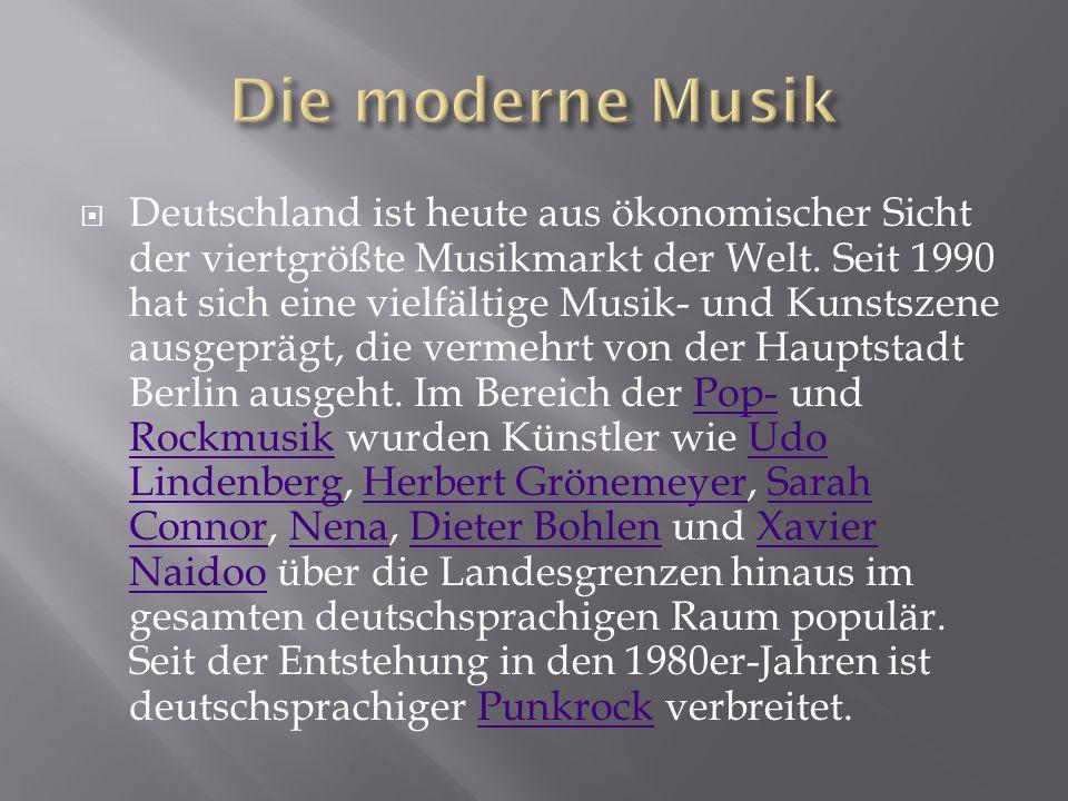 Die moderne Musik