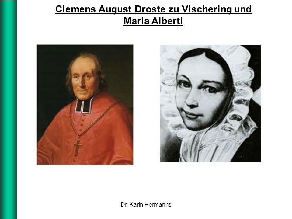Clemens August Droste zu Vischering und Maria Alberti