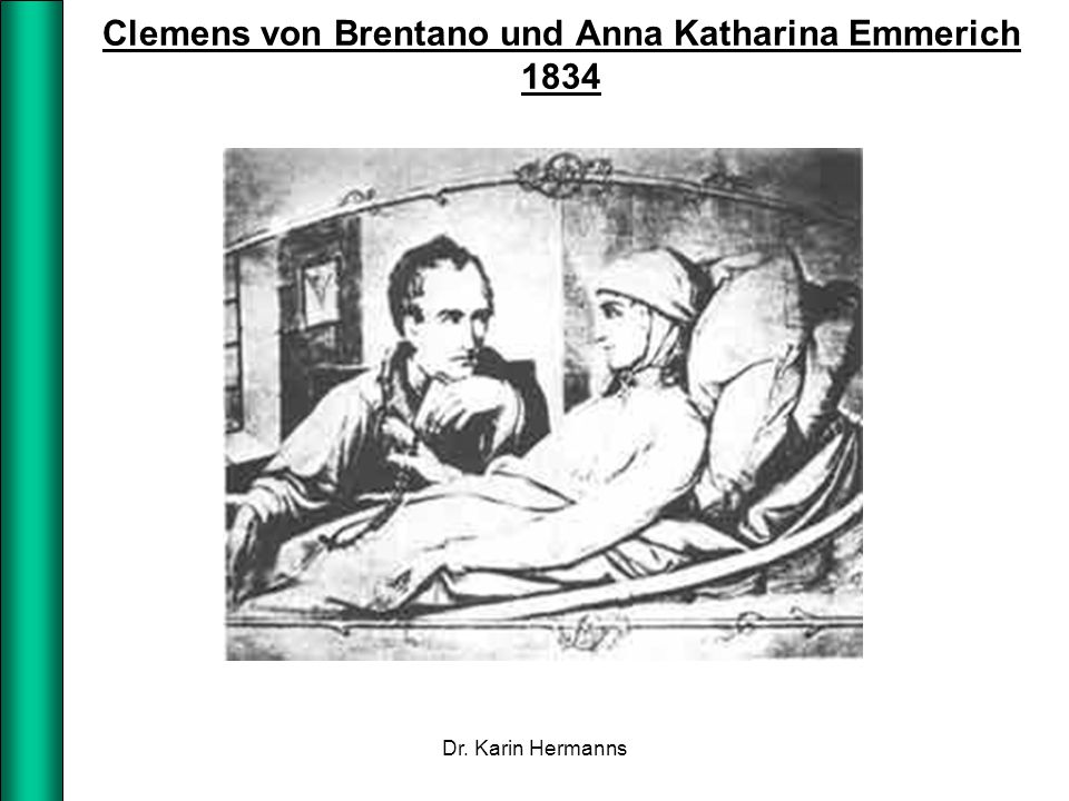 Clemens von Brentano und Anna Katharina Emmerich 1834