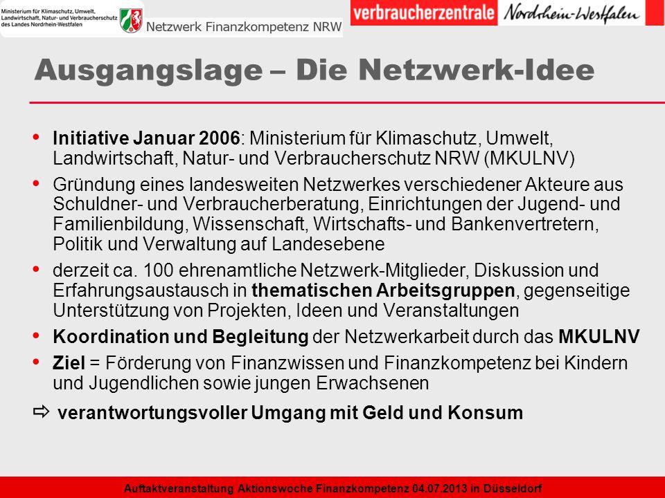 Ausgangslage – Die Netzwerk-Idee