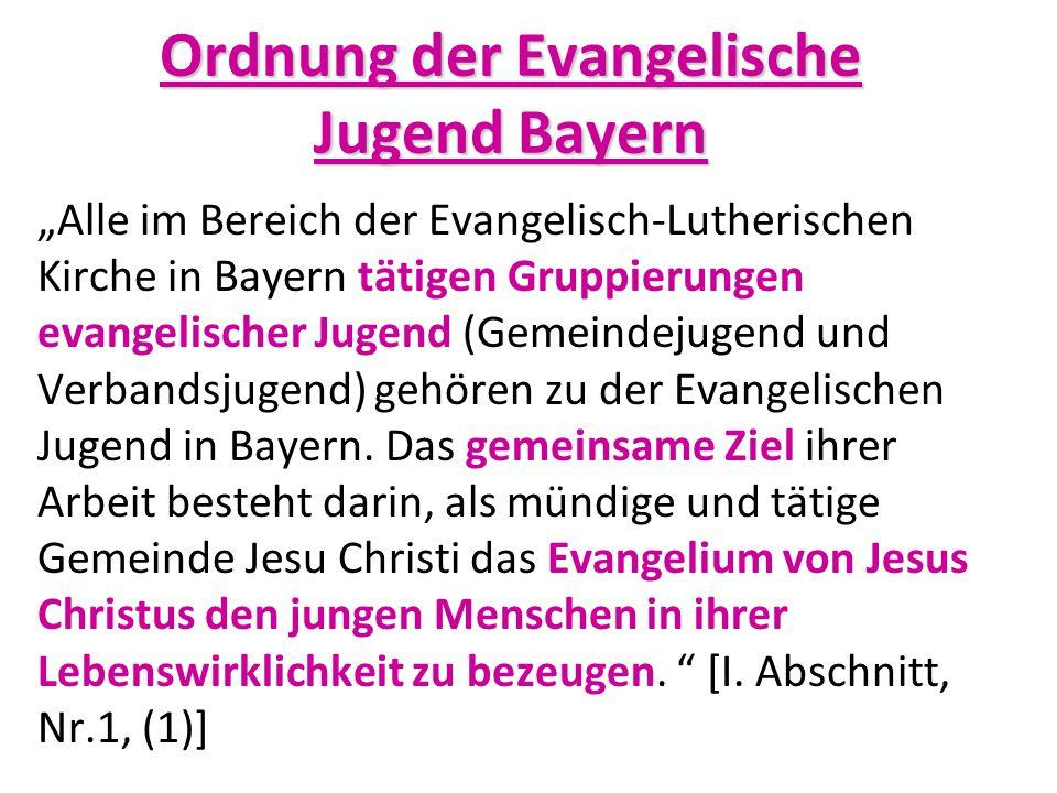 Ordnung der Evangelische Jugend Bayern